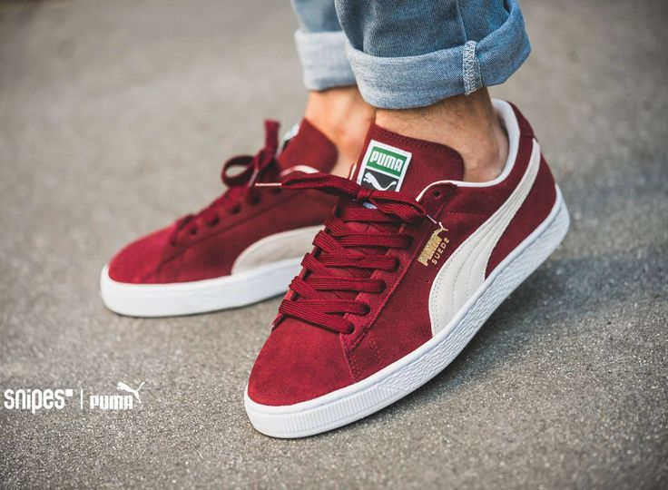 Trendy Sneakers 2017/ 2018 : Puma Suede Classic+ 'Bordeaux' post image |  Puma suede, Pumas and Adidas