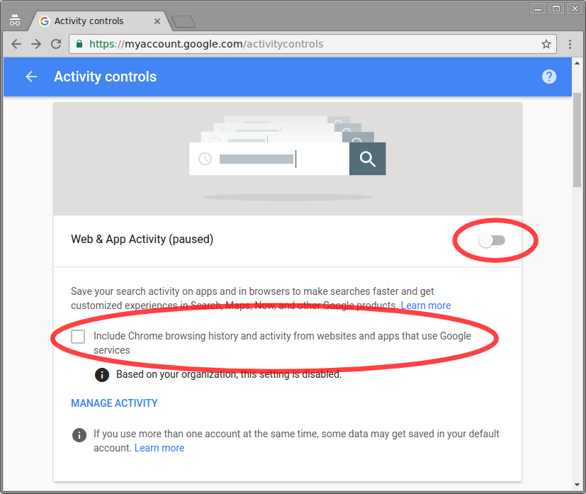 Guide To Google Account Privacy Settings For Students Google