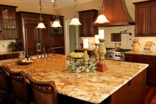 Pin By Megan Mullaney On Home Decor Granite Countertops Warm Kitchen Countertops