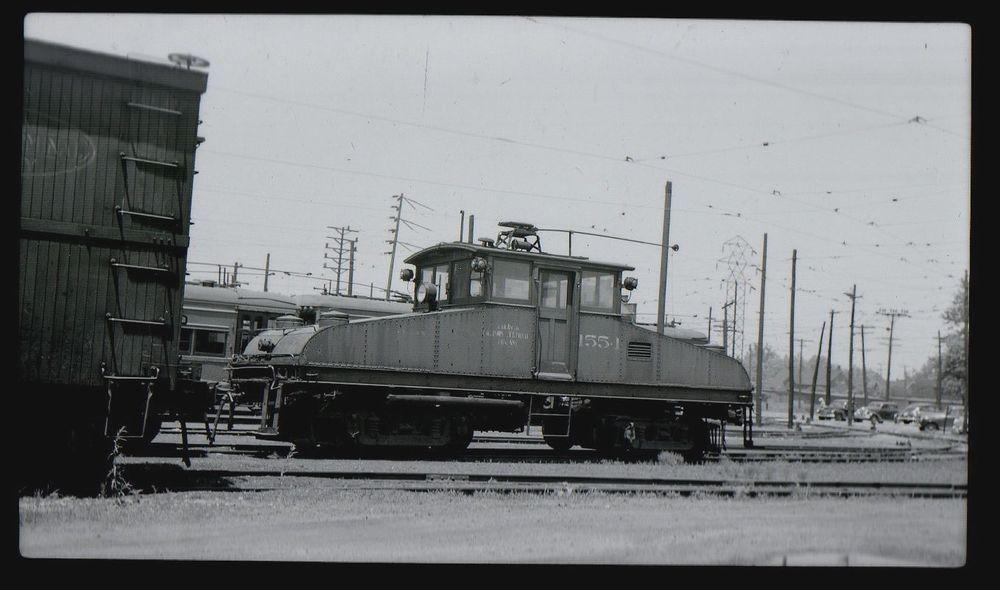ILLINOIS TERMINAL RAILROAD Depot SPRINGFIELD IL 1953 Photo