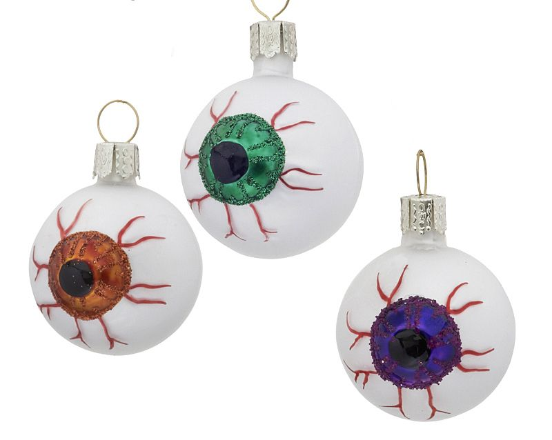 These evil eyes are fun way to decorate for Halloween You can get - when should you decorate for halloween