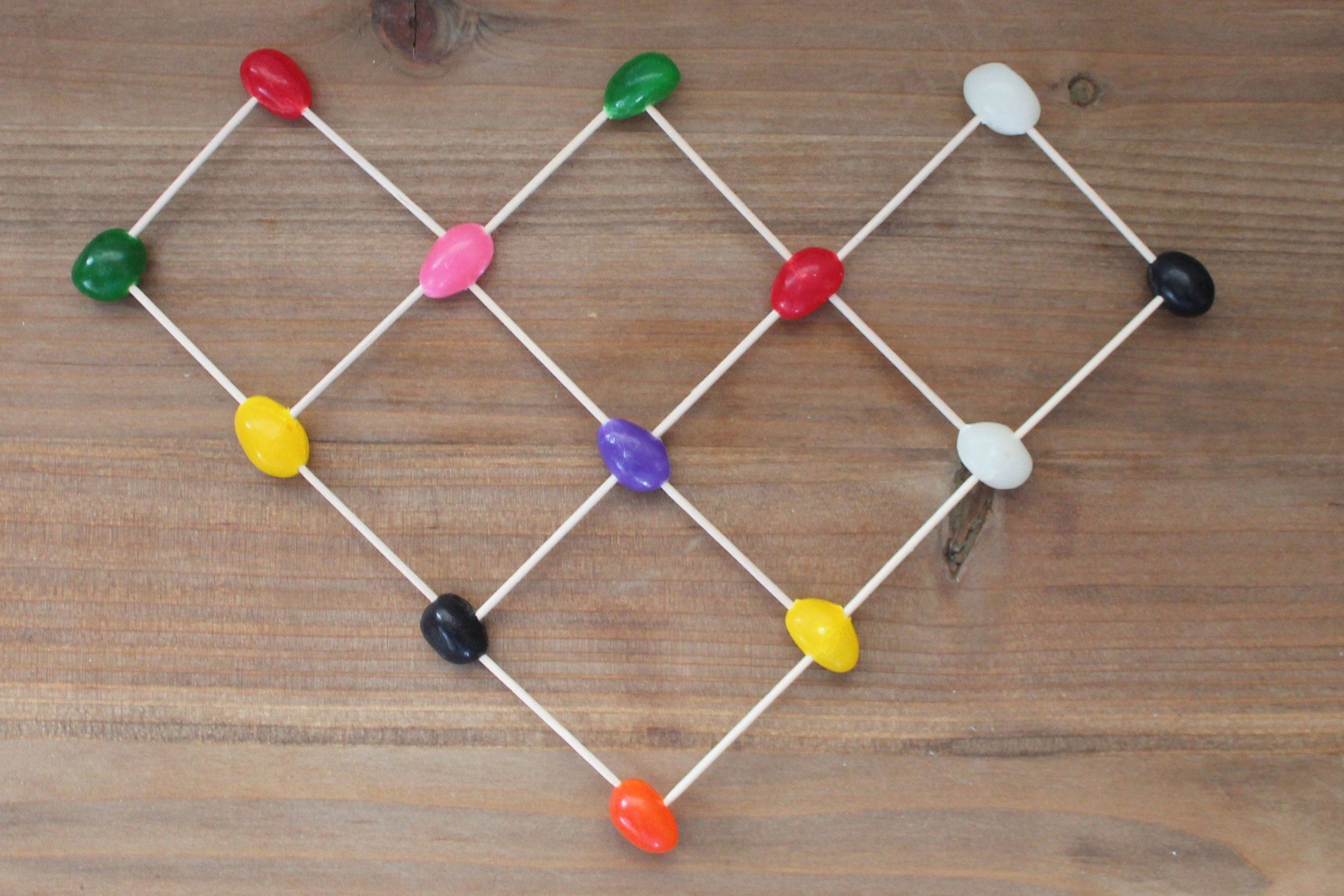 An easy STEM Activity that can be done as independent play, or as a team building challenge for kids. Create the tallest jelly bean tower, build an intricate structure, or even work on learning letters and numbers. Perfect 'Minute it to Win It' game for classroom fun, scouts, or vacation bible school. #stem #stemgames #stemactivties #stemforkids #activitiesforkids #stemlearning #teaching #classroomfun