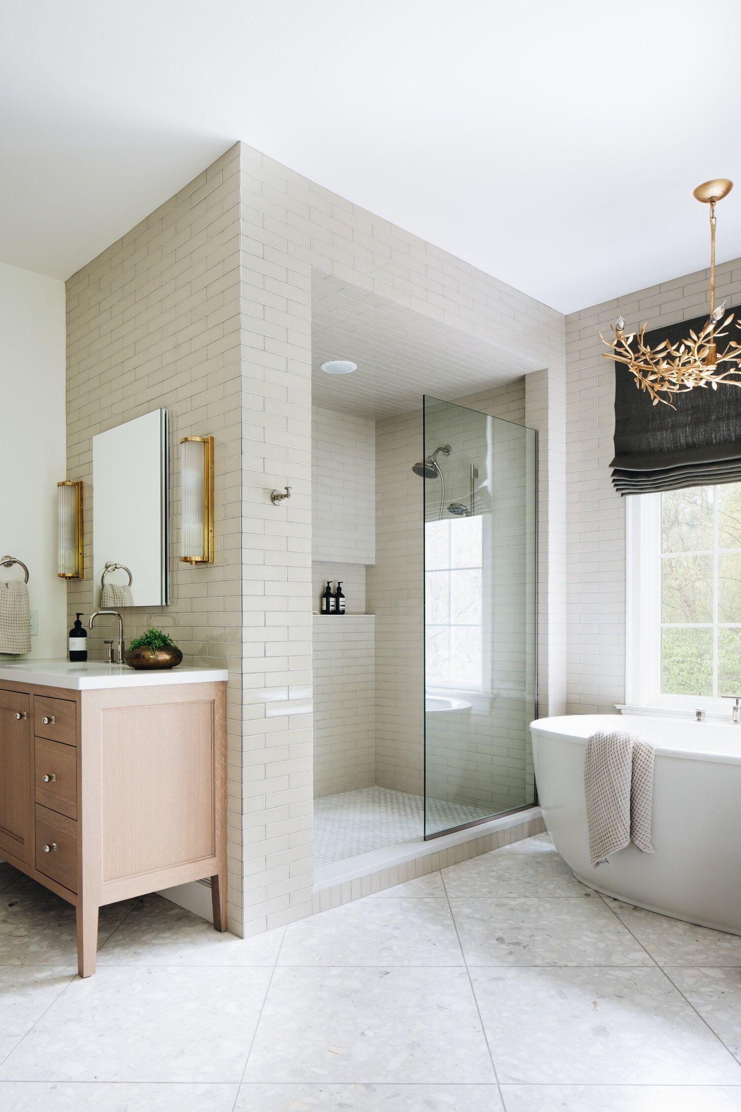 Ada Classic Design Jean Modern Stoffer Master Bathroom White Oak Vani Ada Bathroom Classic Design Jean Maste In 2020 Dream Bathrooms Bathrooms Remodel Home