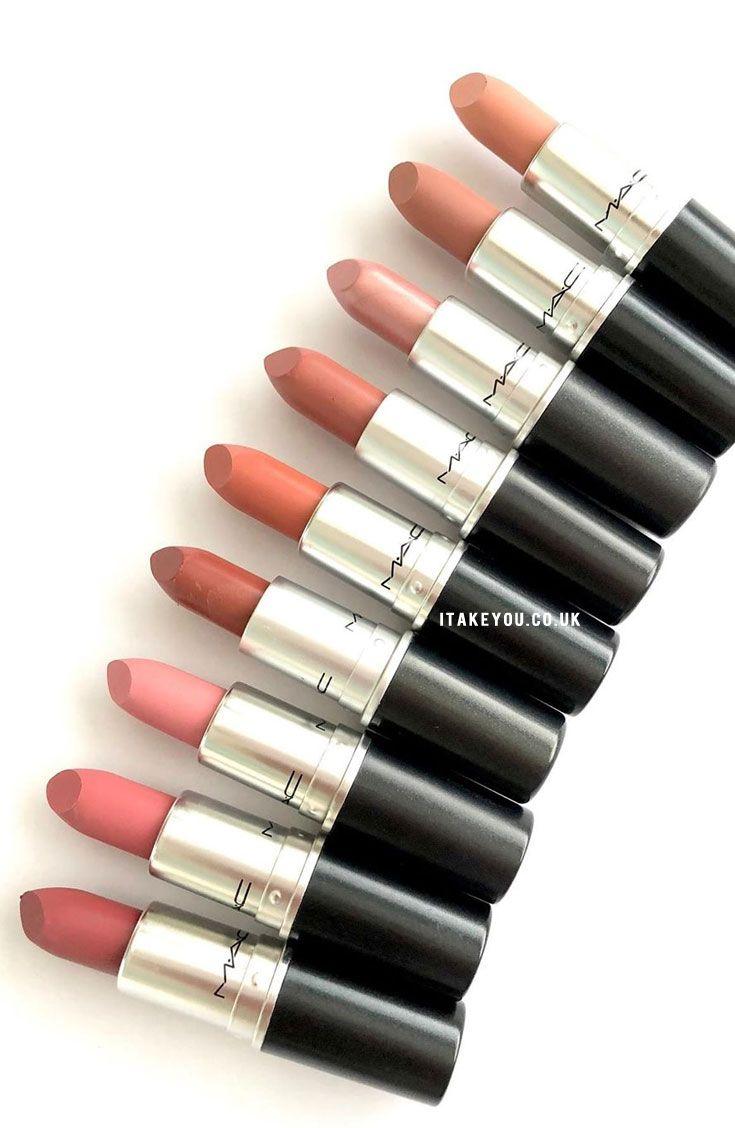 MAC Naturally Lipsticks Review, Photos, Swatches