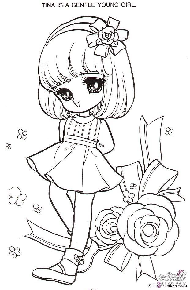 Pin By Kanitson Nomphet On انمي بنات رسم Chibi Coloring Pages Cute Coloring Pages Coloring Books