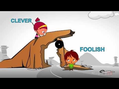 Learn 100 Opposite Words (Preschool) - Part 08 | Opposites ...