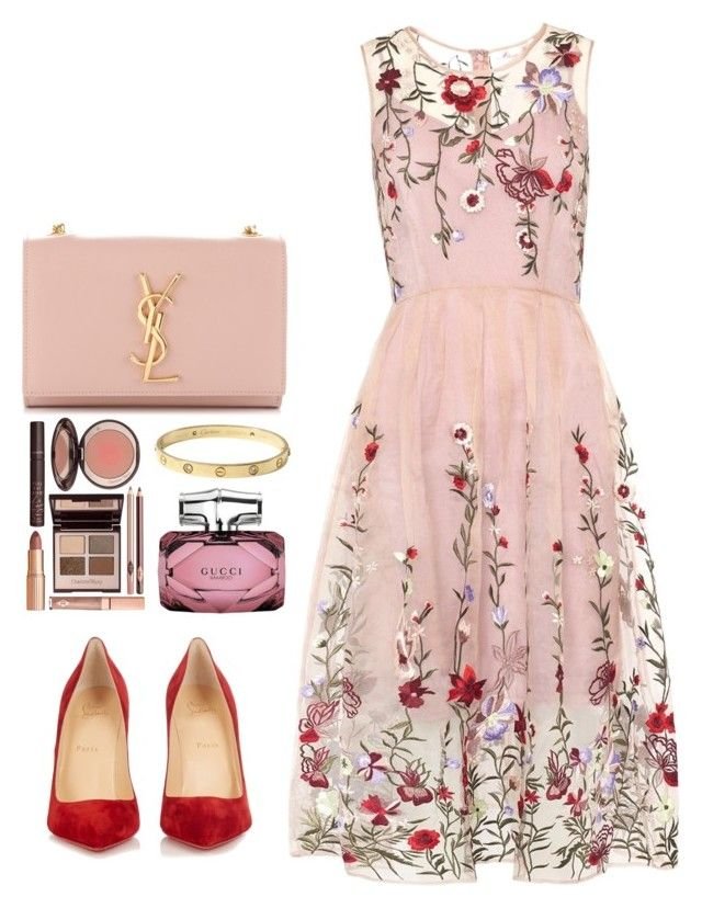 by fatyespinosa1 ❤ liked on Polyvore featuring Yves Saint Laurent ...