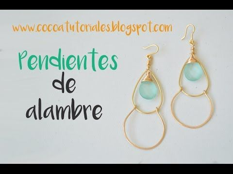 28b6d401cd98 YouTube | Beaded Earrings | Bisuteria hecha a mano, Como hacer ...