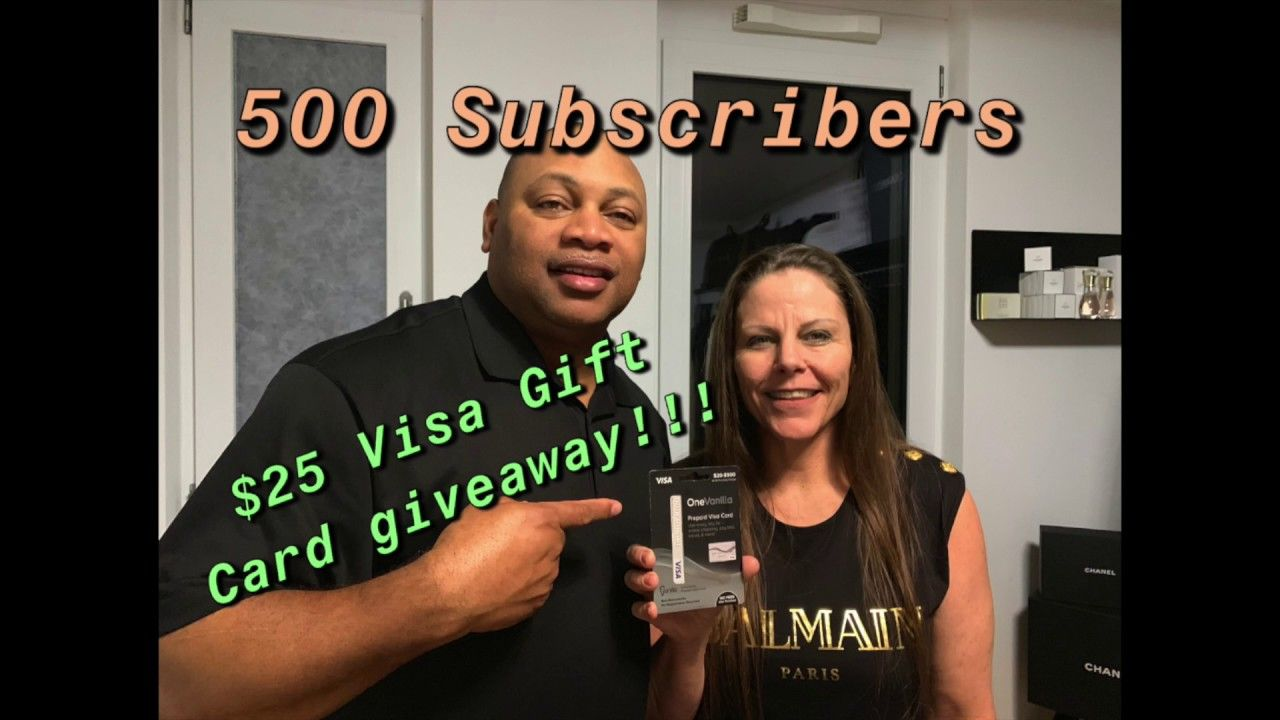 Photo of CAN WE REACH 500 SUBSCRIBERS – ABONNENTEN!!! $25 VISA GIFT CARD GIVEAWAY – ( Closed )!!! IT'S FREE