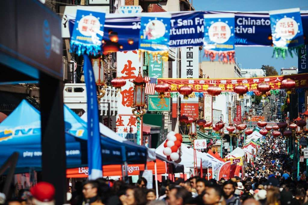 Autumn Moon Festival brings crowds to Chinatown's Grant