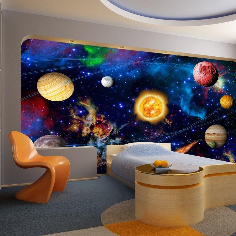 fototapeta kosmos - do pokoju dziecka