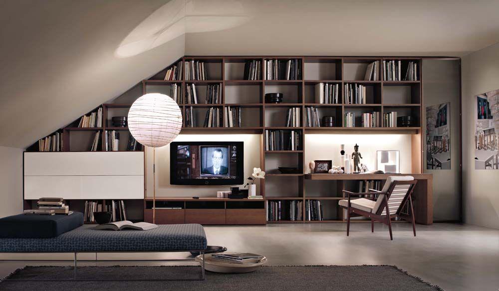 Progetto Selecta: la libreria di design è custom made | Interior ...