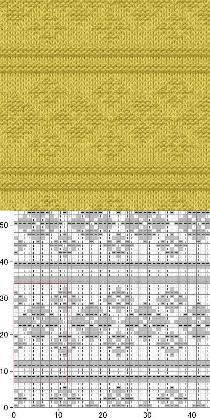 Pin de Irin en узор | Pinterest | Puntos, Tejido y Dos agujas