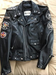 ff0868ff32 Mens Motorcycle Ace Cafe Rocker Repro 59 Club Punk Rock Cafe Racer ...