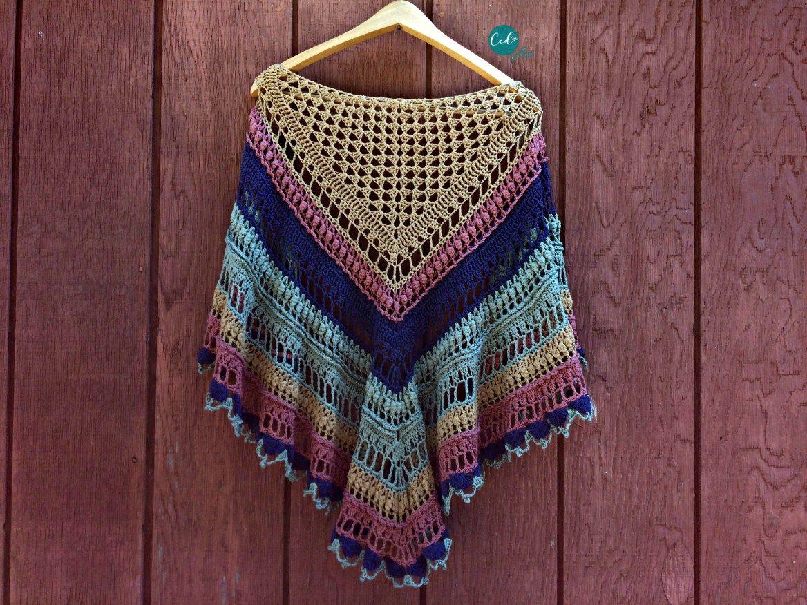 crochet shawlette   Crochet patterns   Pinterest   Crochet, Shawl ...