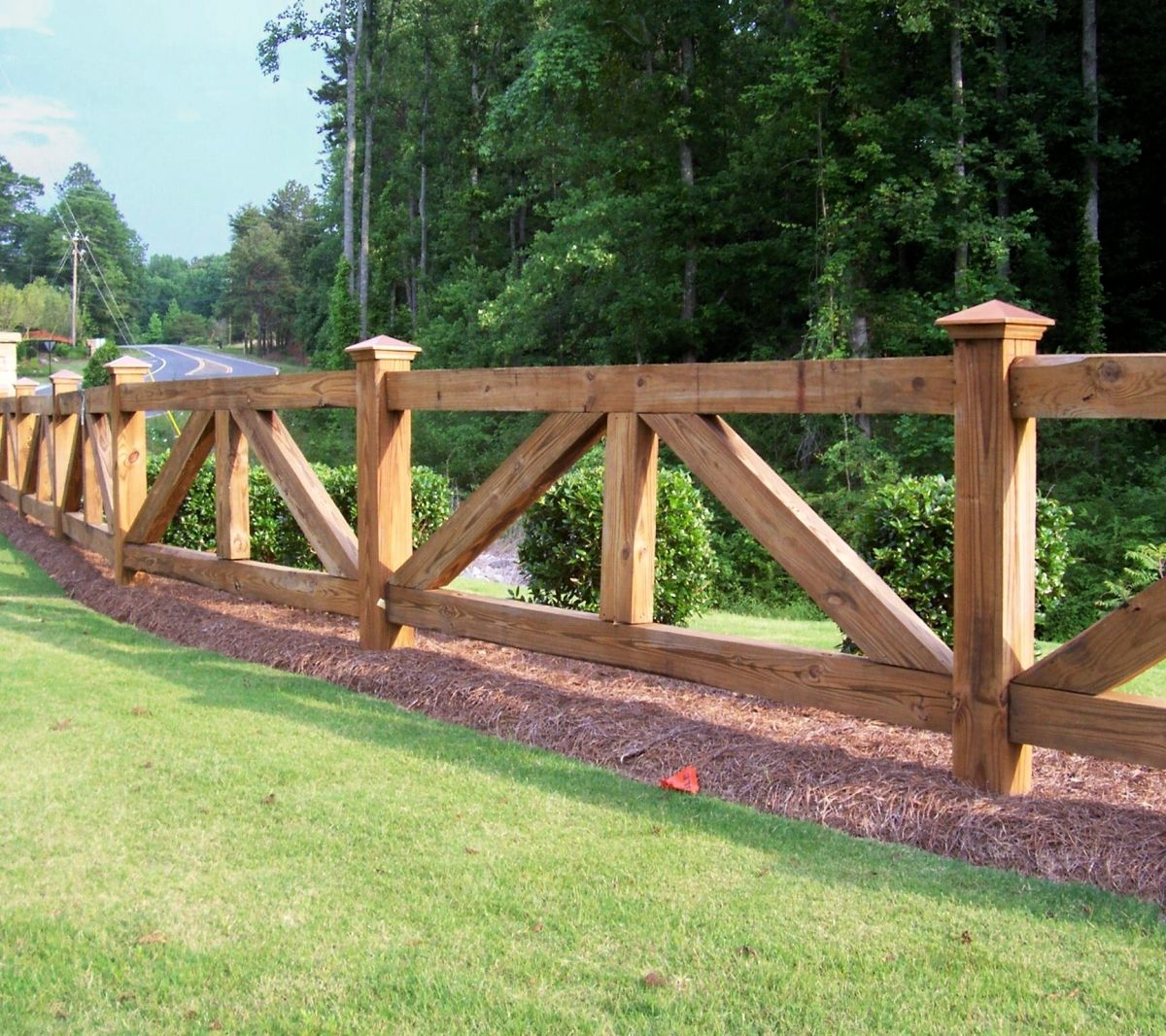 Custom wood ranch rail fencing by mossy oak fence company central ranch style wood fence designs wooden fences farm fences wood fences farmhouse fence fence design added on june 2016 at write teens baanklon Gallery