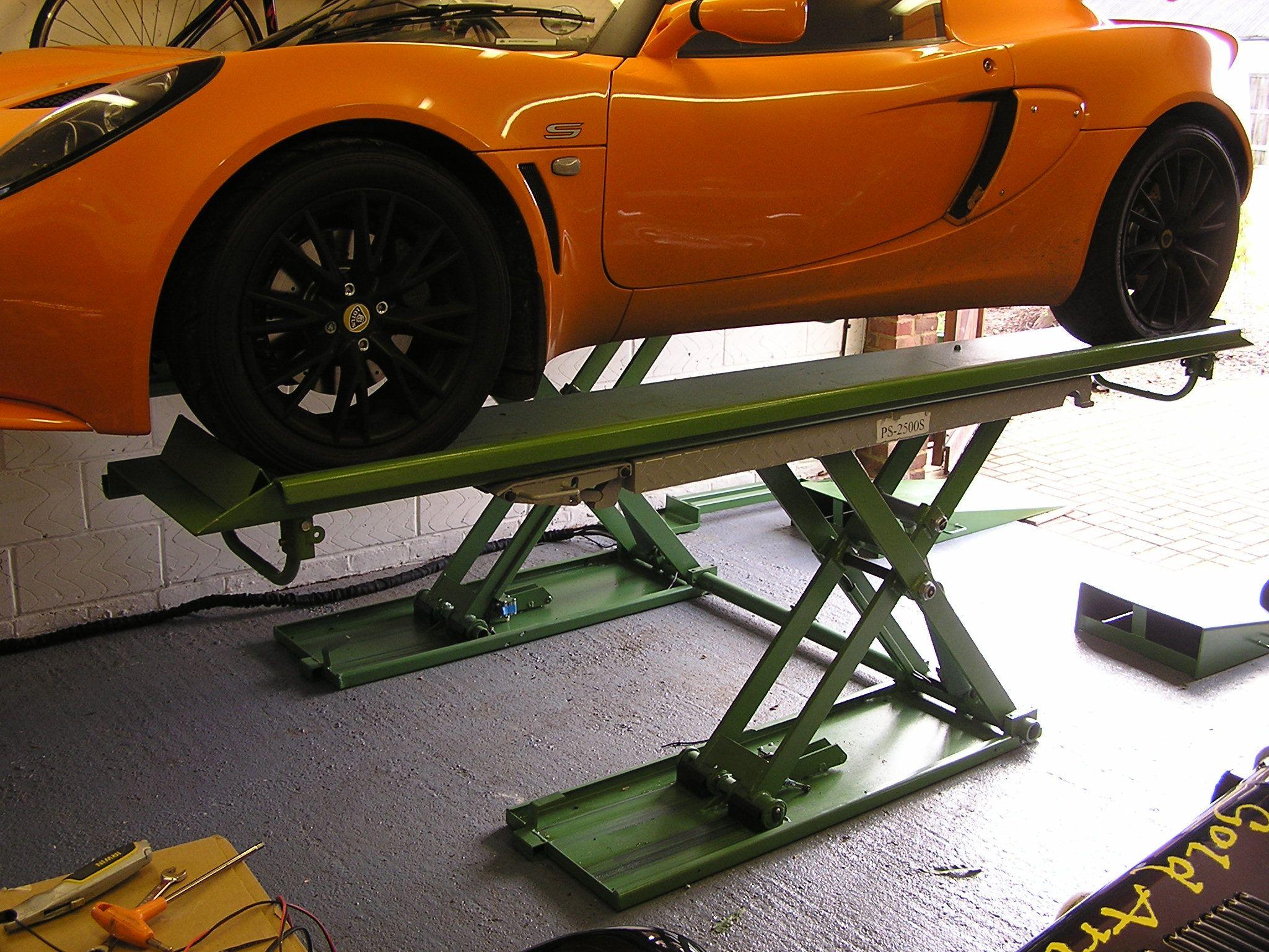 Auto Lift Safety : Bespoke platform scissor lift with m platforms this