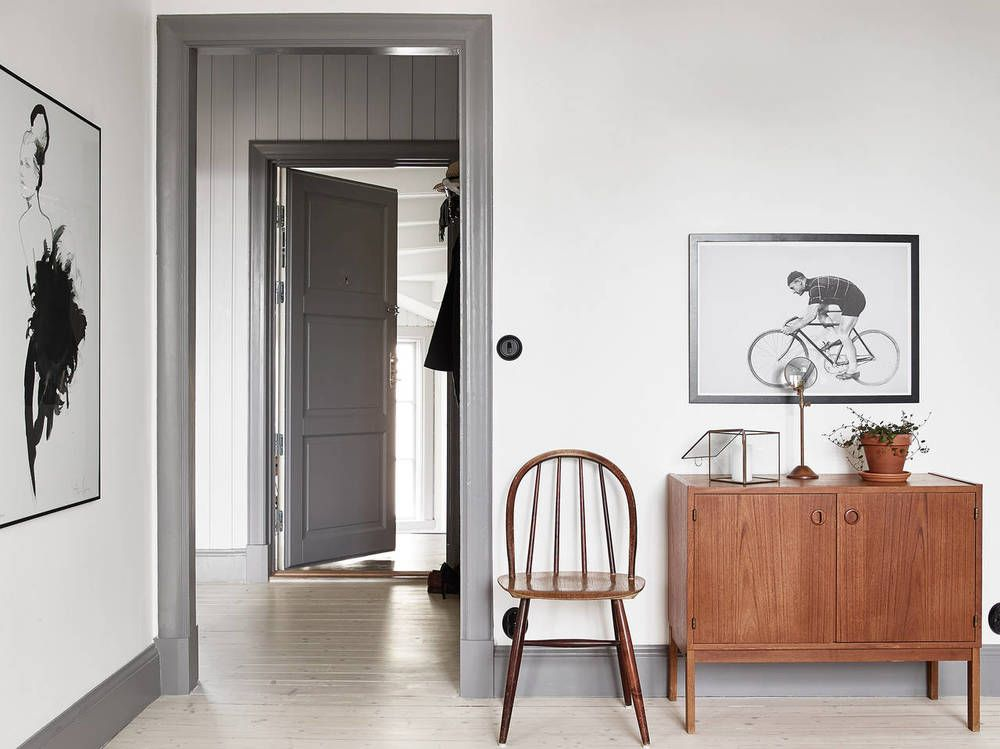 Image Result For Grey Trim On White Wall