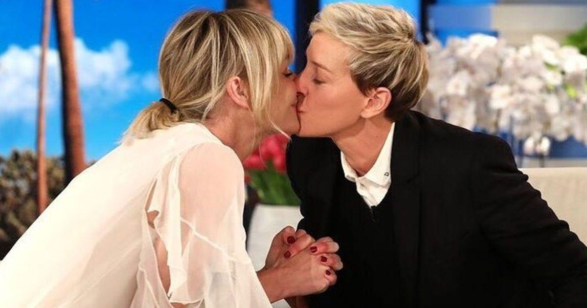 Portia De Rossi Wedding Kiss.7 Times Ellen Degeneres And Portia De Rossi Were