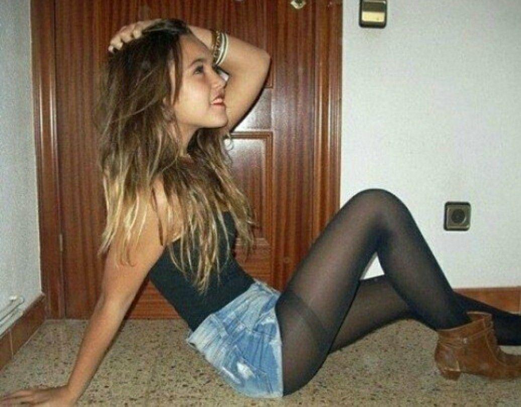 stockings teen girl