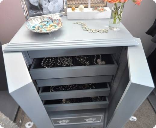 hutch jewelry website diy website and easy makeover on jewelry cabinet 2794