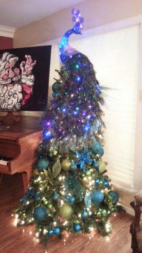 Peacock Tree 2013 Kerst Ideeen Ouderwetse Kerst Kerstmis Diy