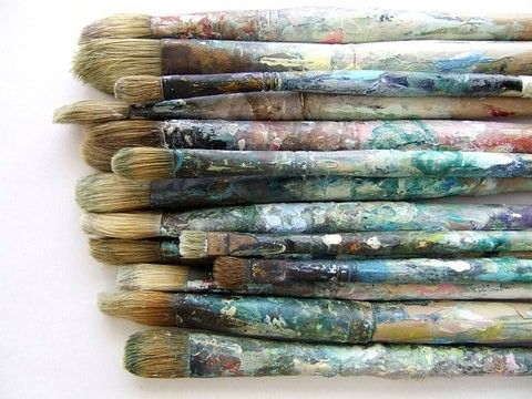 paint brushes are beautiful