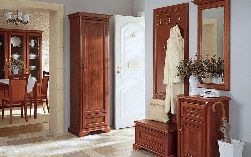 Recibidor con muebles de madera estilos de dise o - Diseno de recibidores ...