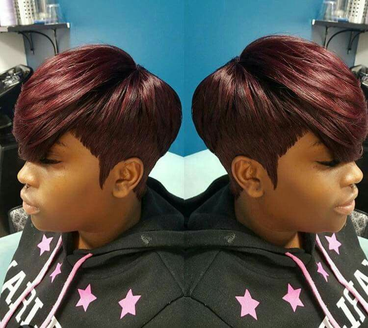 Pin By Curtricia Hudson On Hair Quick Weave Hairstyles 27 Piece Hairstyles Short 27 Piece Hairstyles