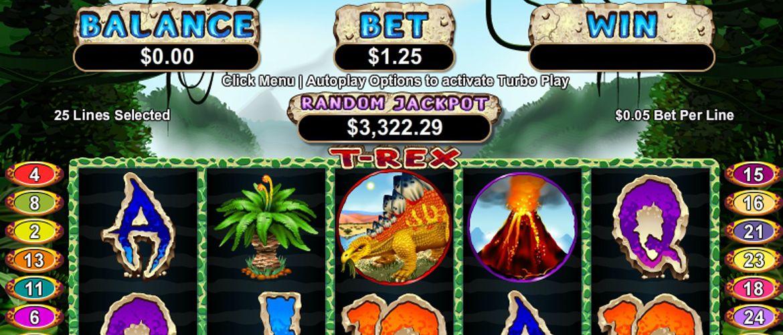 TRex Mobile Slot Game Slots games, Mobile casino, Games