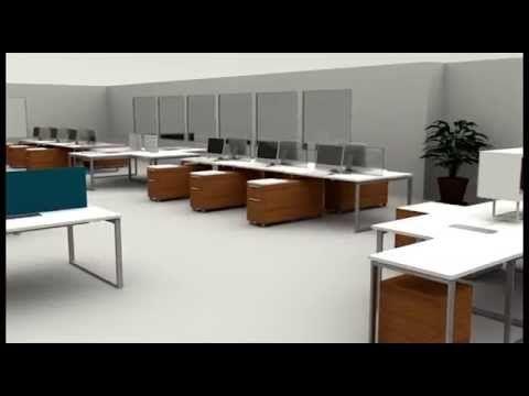 Sistema de Oficinas Kento (Diseño de oficinas ATU Internacional)