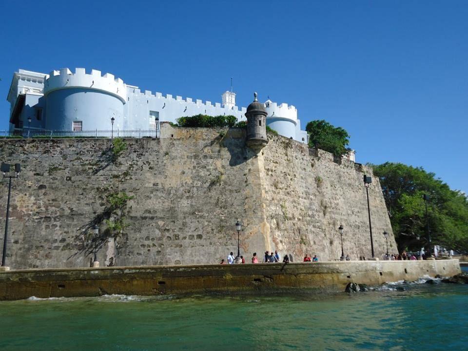 El Viejo San Juan desde el mar