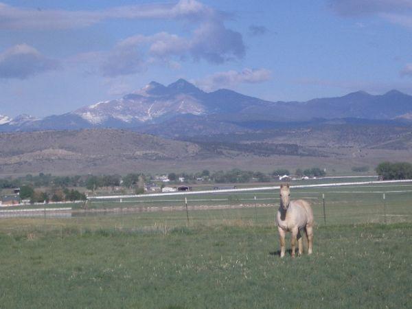 Front Range Of Eastern Colorado Front Range Rocky Mountains Colorado
