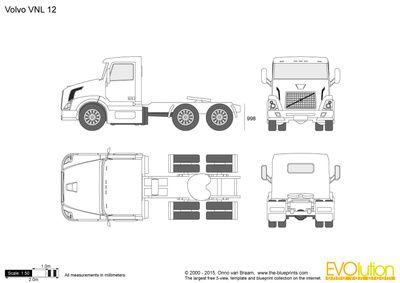 Volvo Vnl 12 Volvo Rc Drift Cars Truck Art