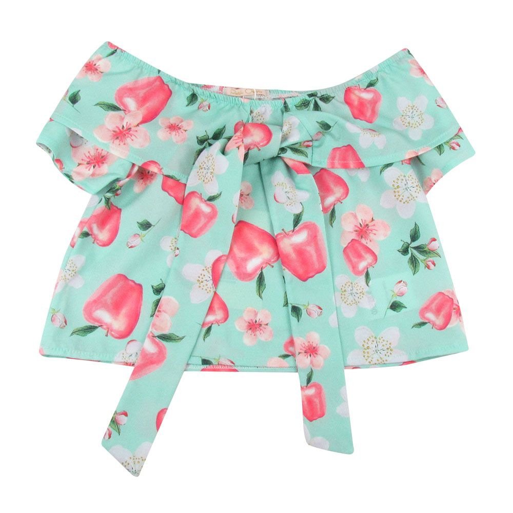 Toddler Girl Cool Clothes Set,Suma-ma Baby Girls Sleeveless Ruffle Top Blouse Bow-knot Shorts Casual Outfits