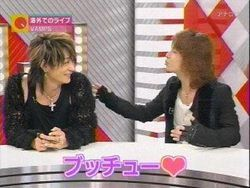 Awww K.A.Z i think Hyde's asking for a kiss