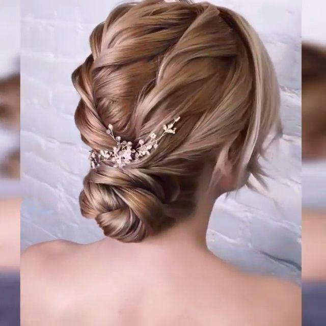 Updo In 2020 Hair Up Styles Long Hair Styles Hair Styles