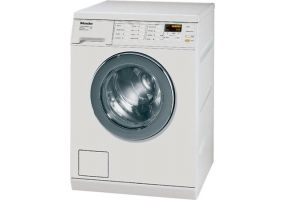 W Miele White Standard Capacity Front Load Washer At Abt Top - Abt washers