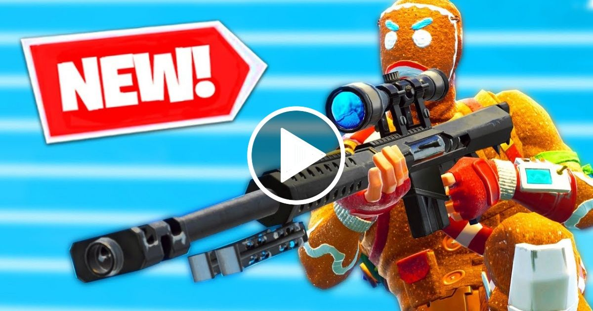 New Heavy Sniper Gameplay In Fortnite Battle Royale Viral Chop