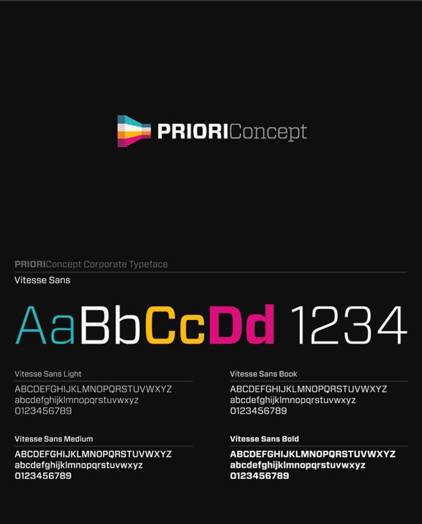 Branding Case Study by Agency Necon for Priori Concept