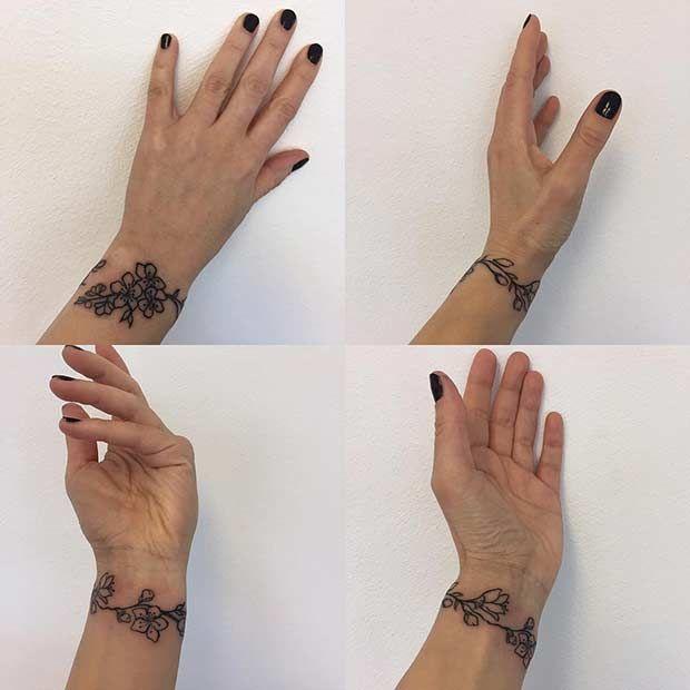 21 Stylish Wrist Tattoo Ideas For Women Stayglam Flower Wrist Tattoos Wrist Tattoos For Women Tattoos For Women