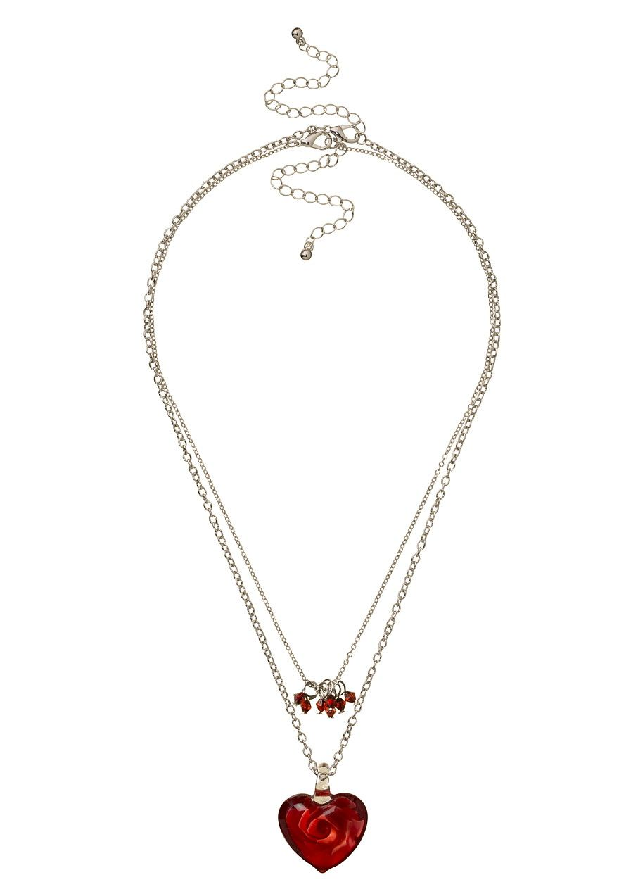 3 in 1 glass heart pendantmaurices pendant heart