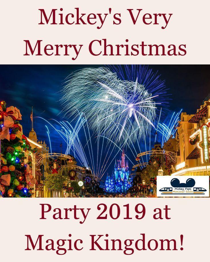 Mickey's Very Merry Christmas Party 2019! Disney world
