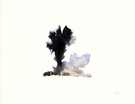 "Walid Raad, ""Oh God, he said, Baalbek, July 13, 2006"", 2006, 43,1 x 55,9 cm"