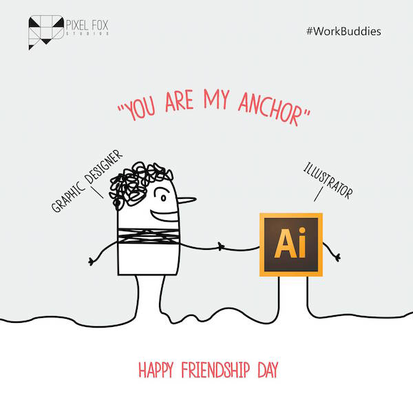 Funny Posters Dedicated To Our Friendship With Our Favourite Software