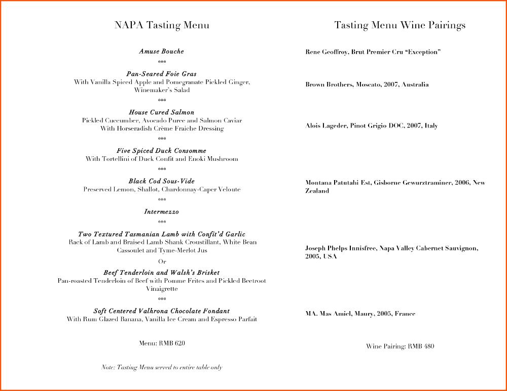 Wine Menu Template Survey Template Words Pertaining To Wine Tasting Menu Template 10 Professional Templat Survey Template Word Menu Template Survey Template