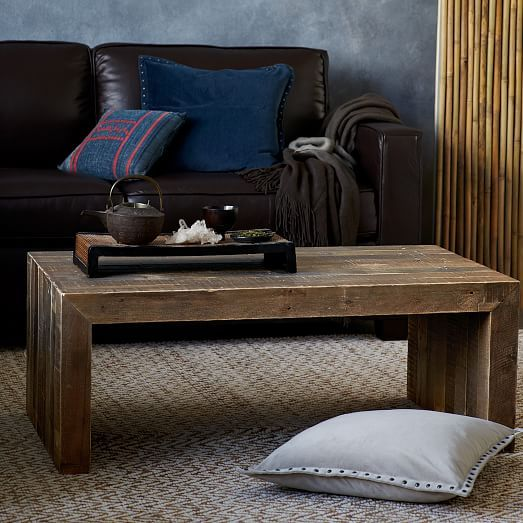 Emmerson Reclaimed Wood Coffee Table Stone Gray In 2020 Reclaimed Wood Coffee Table Coffee Table Raw Wood Coffee Table