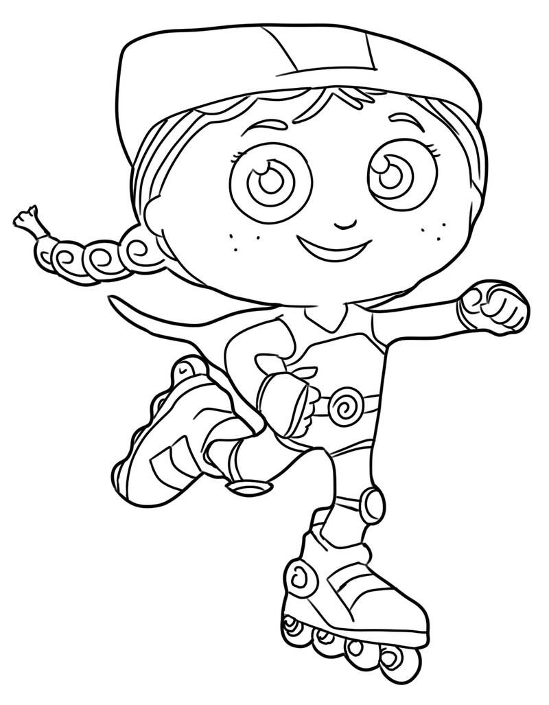 Super Why Coloring Pages Free Download