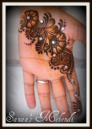 Mehndi jewels wedding simple henna pattern with of also rh pinterest