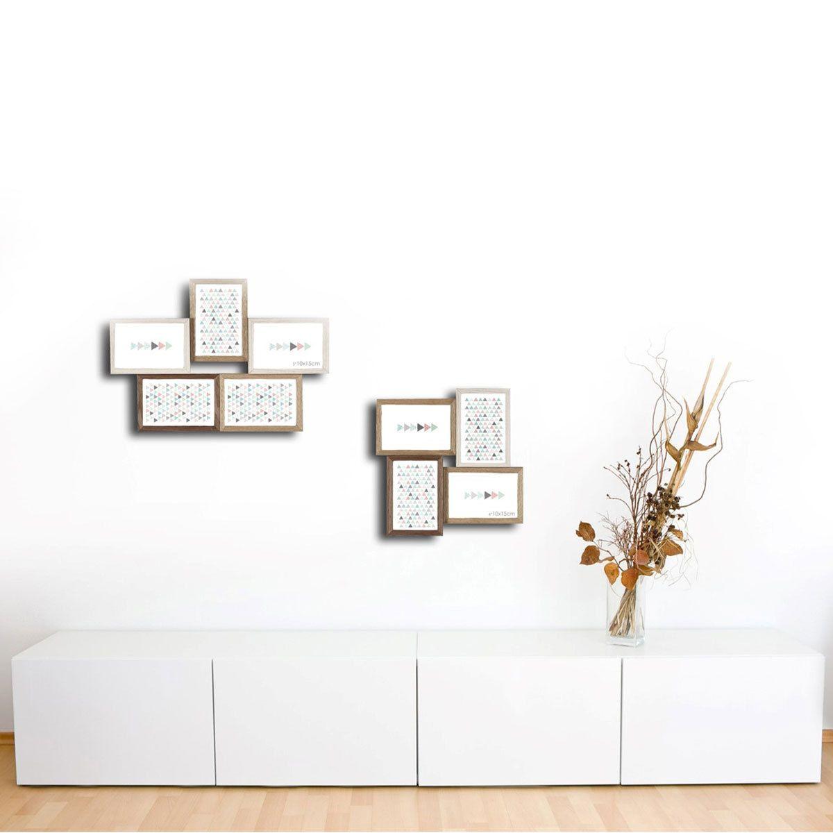 cadre photo cadre photo multivues scandi scandinave d co scandinave nordique. Black Bedroom Furniture Sets. Home Design Ideas